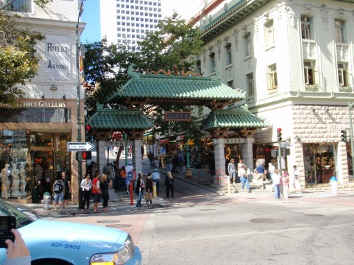 Entrance to China Town!