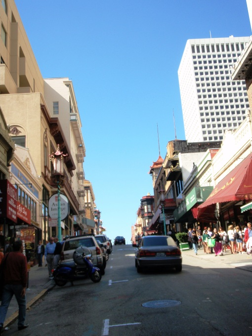 Side street of China Town