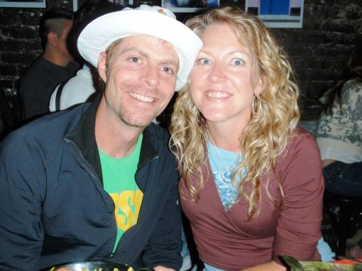 Sangria smiles at the Cuban restaraunt