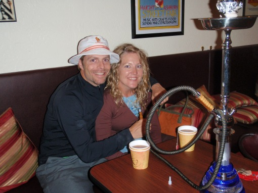 Hookah Bar on the Hait...put that in your pipe and smoke it...Nothing illegal though, I promise Mom