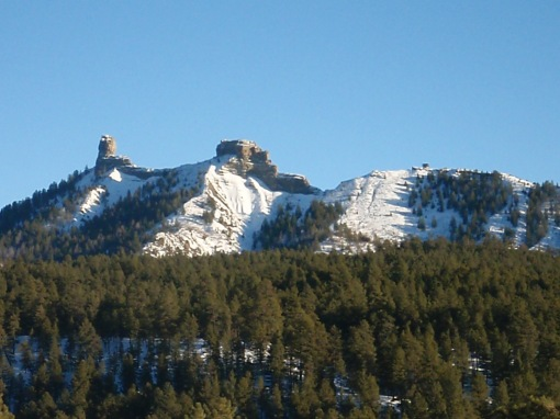 Sacred Chimney Rock