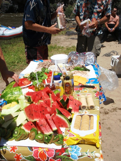 The Lunch Spread