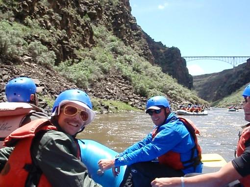 The High Bridge over the Rio Grande Gorge